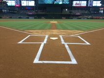 Chase Field Home The For The Arizona Diamondbacks Royalty Free Stock Images