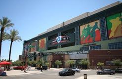 Chase Field in Phoenix, Arizona Stock Photos