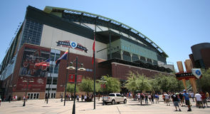 Chase Field in Phoenix, Arizona Royalty Free Stock Photo