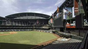 Chase Field in Phoenix, Arizona Royalty Free Stock Image