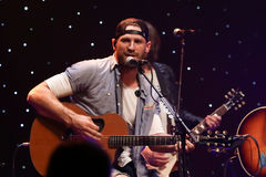 Chase Rice. CHICAGO-NOV 9: Chase Rice performs at CBS Radio`s Stars & Stripes event at the Chicago Theatre on November 9, 2016 in Chicago, Illinois Royalty Free Stock Photo