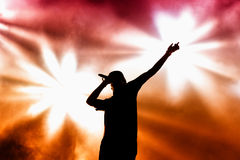 Chase & Status (British electronic music production duo band) performs at FIB Festival Royalty Free Stock Photography