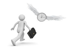 Chase the time Stock Photography