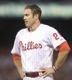 Chase Utley. Second baseman, Philadelphia Phillies Stock Photo