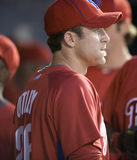 Chase Utley. Second baseman, Philadelphia Phillies Royalty Free Stock Images