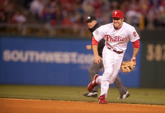 Chase Utley Royalty Free Stock Photography