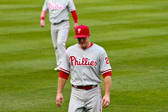 Chase Utley Philadelphia Phillies Stock Photography