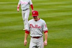 Chase Utley Philadelphia Phillies Stock Photography