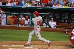 Chase Utley Philadelphia Phillies Royalty Free Stock Photography