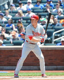 Chase Utley. Philadelphia Phillies 2B Chase Utley Royalty Free Stock Images