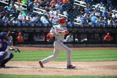 Chase Utley. Philadelphia Phillies 2B Chase Utley Stock Photo