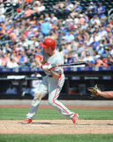 Chase Utley. Philadelphia Phillies 2B Chase Utley.  (Image taken from color slide Stock Image