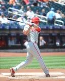 Chase Utley. Philadelphia Phillies 2B Chase Utley.  (Image taken from color slide Stock Photos