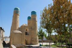 Chashma Ayub och källa av det heliga jobbet i Bukhara Arkivfoto