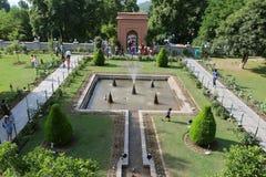 Chashme Shahi Stockbild