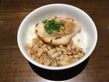 Chashu mettent Photos stock