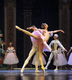Chasing the dream-The Ballet  Nutcracker Stock Photography