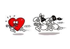 Chasing Love Stock Photo