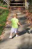 Chasing my shadow Royalty Free Stock Image
