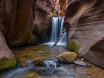 Free Chasing Waterfalls In Southern Utah Stock Images - 129839514