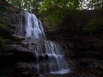 Chasing waterfalls stock image
