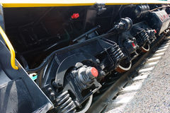 Chasis del ferrocarril Fotografía de archivo libre de regalías