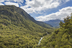 The Chasm (Fiordland, South Island, New Zealand) Stock Image