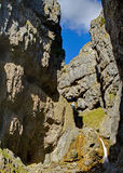 Chasm of Gordale Scar Stock Photos