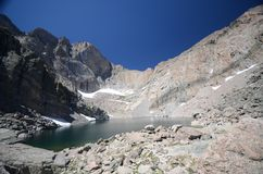 Chasm Lake - Colorado Stock Images