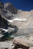 Chasm Lake - Colorado Royalty Free Stock Photography