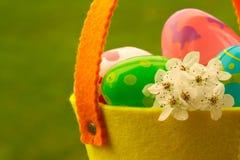 Chasse à oeuf de pâques Photo stock