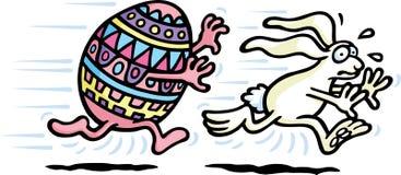 Chasse à Pâques Illustration Libre de Droits