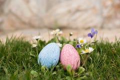 Chasse à Pâques Images stock