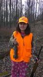 Chasse d'écureuil en Pennsylvanie Image libre de droits