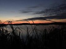 Chasse de canard dans le Wisconsin Image stock