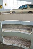 Chasse de la construction de parking Photo stock