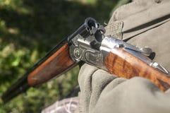 Chasse du fusil image stock