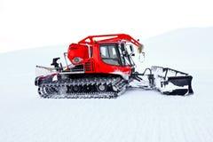 Chasse-neige Photo libre de droits