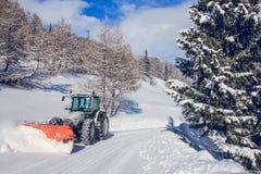 chasse-neige Photos libres de droits