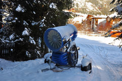 Chasse-neige - chasse-neige Images stock