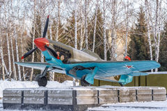 Chasseur-bombardier soviétique d'avions images stock