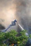 Chasseur d'incendie Image libre de droits