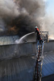 Chasseur d'incendie Photo stock