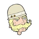 chasseur de grand jeu de victorian de bande dessinée Image libre de droits