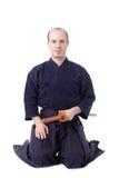 Chasseur de Kendo photographie stock libre de droits