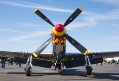 Chasseur du mustang P-51 Images stock