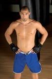 Chasseur mélangé d'arts martiaux photos stock