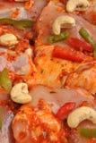 Chasseur organique mariné de poulet Photographie stock libre de droits