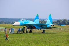 Chasseur SU-27 photos libres de droits