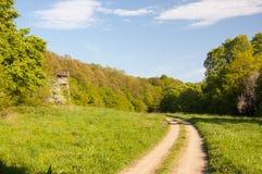 Chasseurs cottage, tour de surveillance photos stock